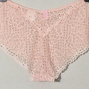 34da64eb47e Rue21 Intimates   Sleepwear - NWT True Rue 21 Boyleg Pink Lace Panties 14 16